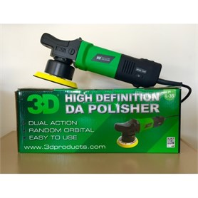 3D-HD Dual Action Polisher - Orbital Pasta -Cila Makinası