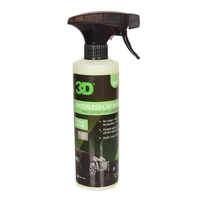 3D WATERLESS CAR WASH - SUSUZ YIKAMA - CİLALAMA 473 ML.